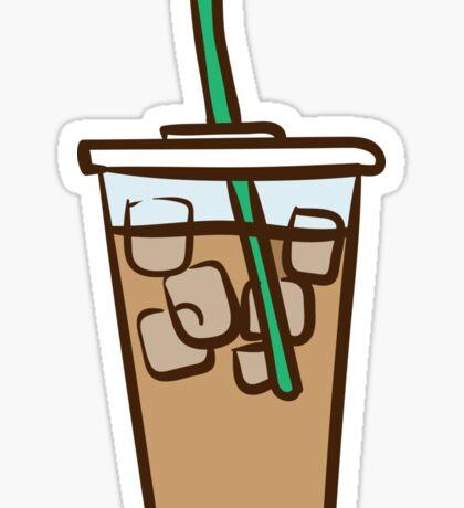 Iced Coffee 1 Sticker