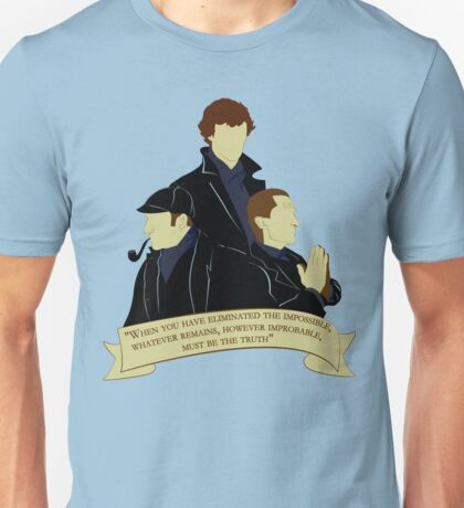 The Holmesly Trinity Unisex T-Shirt