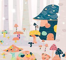 Mushroom Euphoria by brigittehuynh