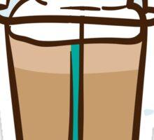 Iced Coffee 2 Sticker