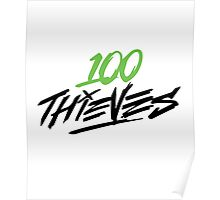#100Thieves Knows Poster