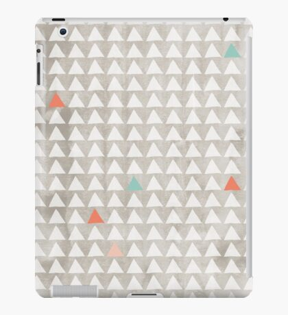 Water Color Triangle Pattern iPad Case/Skin