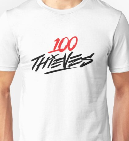 #100Thieves RED Unisex T-Shirt