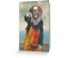 IT's Pennywise in The Son of a Man Greeting Card