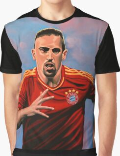 Franck Ribery painting Graphic T-Shirt