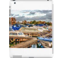 At the Marina HDR iPad Case/Skin