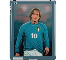 Francesco Totti Italia painting iPad Case/Skin