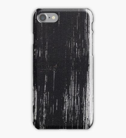 Black Brush Stroke iPhone Case/Skin