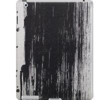 Black Brush Stroke iPad Case/Skin