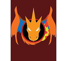 Mega Charizard Y Icon Photographic Print