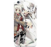 the wolf the dragon and strike iPhone Case/Skin
