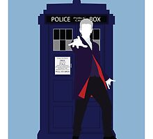 Twelve and the TARDIS (Duvet) - Doctor Who by Ebonrook