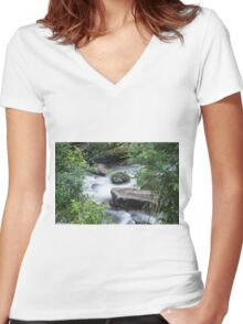 Silky smooth Women's Fitted V-Neck T-Shirt