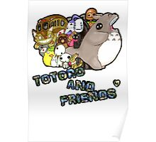 totoro and friends! Poster