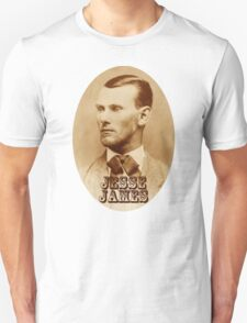Jesse James Unisex T-Shirt