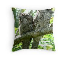 We were minding our own business~~~~~~~ there's that $%^&  camera again! Throw Pillow