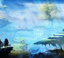 Seiken Densetsu 3 (Secret Of Mana 2) Landscape by ludoart
