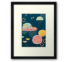 When You Wish Upon A Watermelon Framed Print