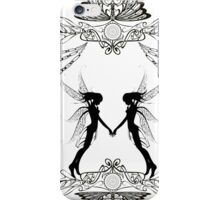Twin Fairies iPhone Case/Skin