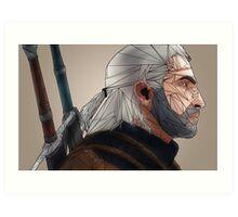 The Witcher: Geralt of Rivia Art Print