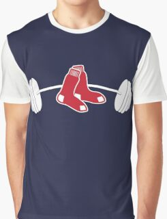 Red Sox Barbell shirt Graphic T-Shirt