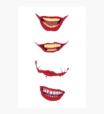 Smilex Photographic Print