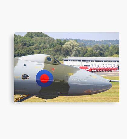 The Spirit Of Great Britain - Farnborough 2014 Canvas Print