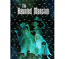 Haunted Mansion's Hitchhiking Ghosts Photographic Print
