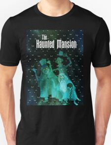 Haunted Mansion's Hitchhiking Ghosts Unisex T-Shirt