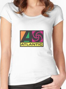 Atlantic Records Women's Fitted Scoop T-Shirt