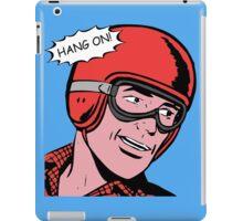 Cartoon Motorcycle - Hang On iPad Case/Skin