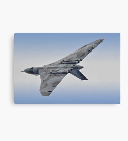 Vulcan - Valedation Display - Farnborough 2014 Canvas Print