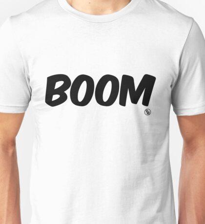 Boom (black) Unisex T-Shirt