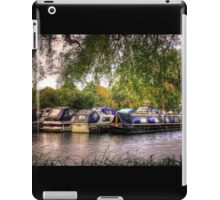 Moored Up boats HDR iPad Case/Skin