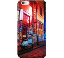 Evening in Hosier Lane iPhone Case/Skin
