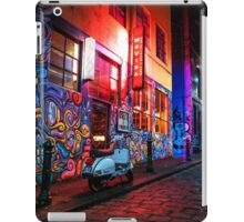 Evening in Hosier Lane iPad Case/Skin