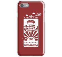 Japan Food Adventure Game iPhone Case/Skin
