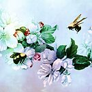 BEES AND BLOSSOMS by Tammera