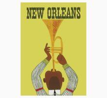 """NEW ORLEANS"" Vintage Mardi Gras Print One Piece - Short Sleeve"