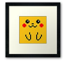 Pikachu 8BIT Collection Framed Print