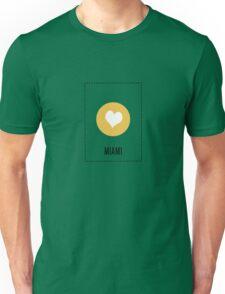 I Love Miami Unisex T-Shirt
