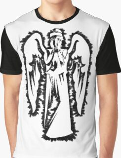 Weeping Graffiti Graphic T-Shirt