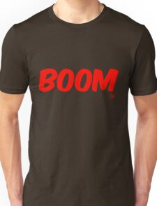 Boom (red) Unisex T-Shirt