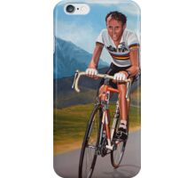 Joop Zoetemelk Painting iPhone Case/Skin