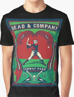 DEAD AND COMPANY TOUR IN FENWAY PARK,BOSTON,MA Graphic T-Shirt
