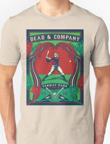 DEAD AND COMPANY TOUR IN FENWAY PARK,BOSTON,MA Unisex T-Shirt