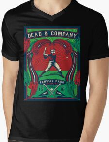 DEAD AND COMPANY TOUR IN FENWAY PARK,BOSTON,MA Mens V-Neck T-Shirt