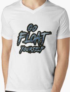 Go Float Yourself (The 100) Mens V-Neck T-Shirt