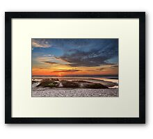 Sunset In Florence Framed Print