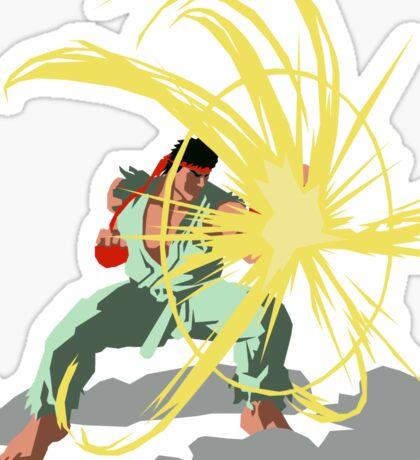 Ryu's Parry Sticker